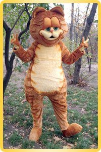 Mascot Cat Garfield