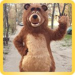 изготовление костюма медведя