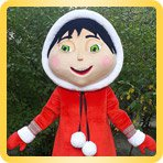 Пошив ростовых кукол персонажей мультфильмов