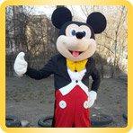 ростовой костюм Микки Мауса