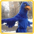 Eagle height-size puppet buy