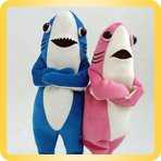 Shark Tail height-size puppet buy