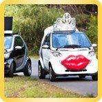 украшения для свадебного автомобиля недорого