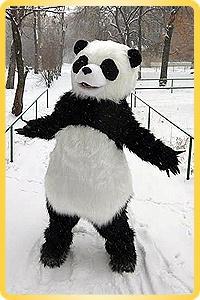 Панда кукла